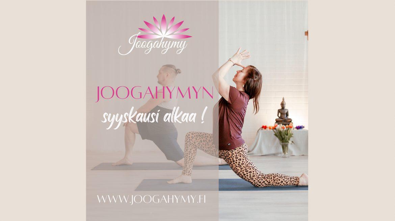 Syyskausi alkaa Joogahymyllä rentouttavilla ja voimaannuttavilla tunneilla!